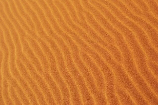 poušť v Africe