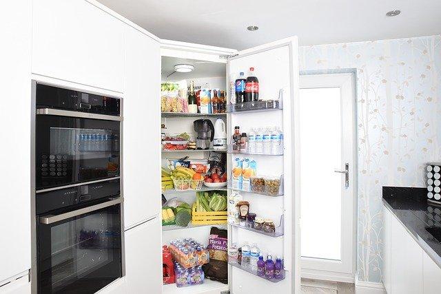 naplněná lednice