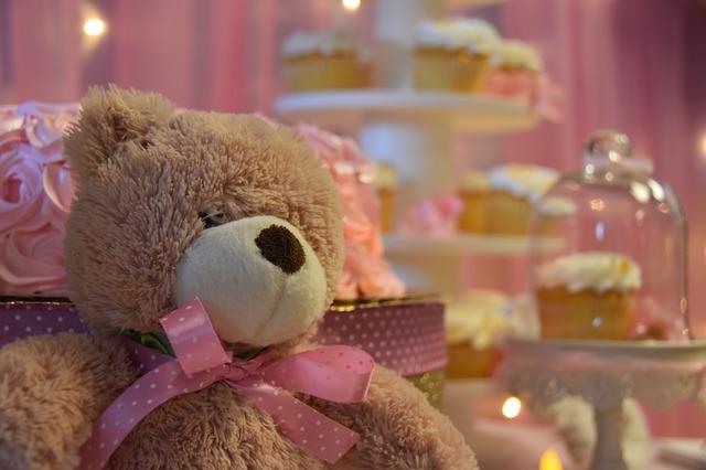 medvídek u dortu