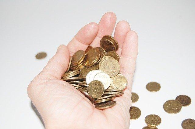 mince na dlani