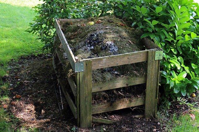 místo na kompost